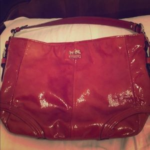 Chic Coach Bright Red shoulder bag / ❤️ offers